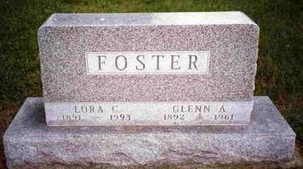 COOTER FOSTER, LORA TABITHA - Madison County, Iowa | LORA TABITHA COOTER FOSTER