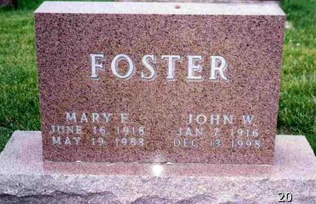 BELLMAN  FOSTER, MARY E. - Madison County, Iowa | MARY E. BELLMAN  FOSTER