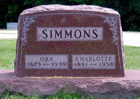 FOSTER SIMMONS, CHARLOTTE E. - Madison County, Iowa   CHARLOTTE E. FOSTER SIMMONS