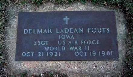FOUTS, DELMAR LADEAN - Madison County, Iowa | DELMAR LADEAN FOUTS