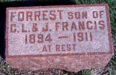 FRANCIS, FORREST - Madison County, Iowa | FORREST FRANCIS