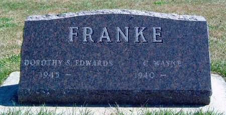 FRANKE, C . WAYNE - Madison County, Iowa | C . WAYNE FRANKE