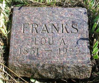 FRANKS, LUCY ANN (LOU) - Madison County, Iowa | LUCY ANN (LOU) FRANKS