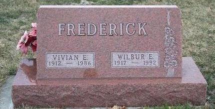 CHRISTENSEN FREDERICK, VIVIAN ELIZABETH - Madison County, Iowa | VIVIAN ELIZABETH CHRISTENSEN FREDERICK