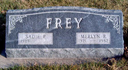 FREY, MERLYN R. - Madison County, Iowa | MERLYN R. FREY
