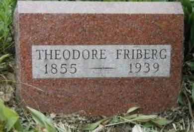 FRIBERG, THEODORE - Madison County, Iowa | THEODORE FRIBERG