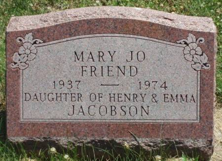 FRIEND, MARY JO - Madison County, Iowa | MARY JO FRIEND