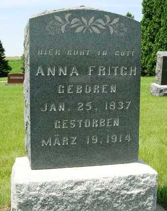 DVORAK FRITCH, ANNA - Madison County, Iowa | ANNA DVORAK FRITCH