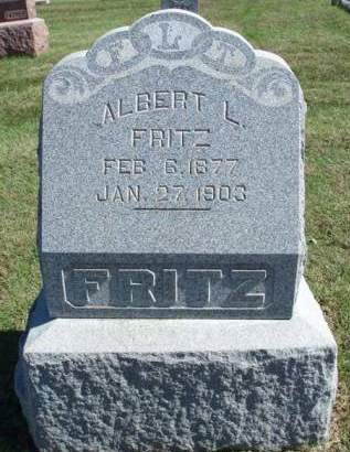 FRITZ, ALBERT LEVI - Madison County, Iowa | ALBERT LEVI FRITZ