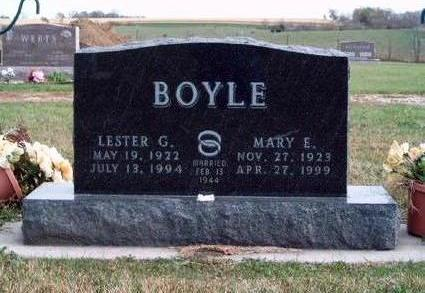 FRY BOYLE, MARY ELIZABETH - Madison County, Iowa | MARY ELIZABETH FRY BOYLE