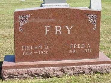FRY, FRED ARTHUR - Madison County, Iowa | FRED ARTHUR FRY