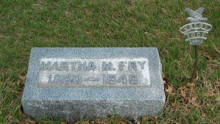 FRY, MARTHA MAGDALENE - Madison County, Iowa | MARTHA MAGDALENE FRY