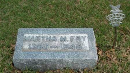 FRY, MARTHA MAGDALENE - Madison County, Iowa | MARTHA MAGDALENE FRY