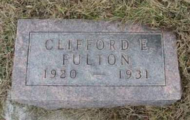 FULTON, CLIFFORD EUGENE - Madison County, Iowa | CLIFFORD EUGENE FULTON