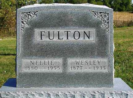 FULTON, NELLIE E. - Madison County, Iowa | NELLIE E. FULTON