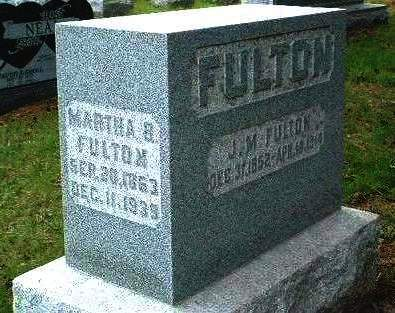 FULTON, MARTHA B. - Madison County, Iowa | MARTHA B. FULTON