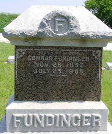 FUNDINGER, CONRAD - Madison County, Iowa | CONRAD FUNDINGER