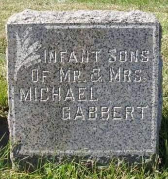 GABBERT, INFANTS - Madison County, Iowa   INFANTS GABBERT