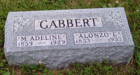 THOMPSON GABBERT, MARY ADELINE (ADDIE) - Madison County, Iowa | MARY ADELINE (ADDIE) THOMPSON GABBERT