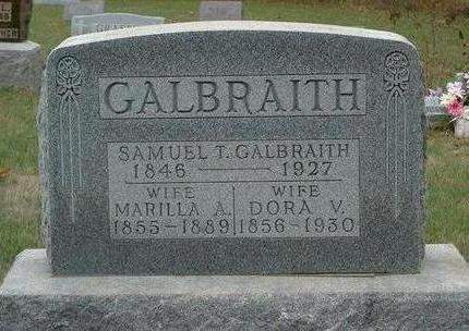 GALBRAITH, DORA V. - Madison County, Iowa | DORA V. GALBRAITH