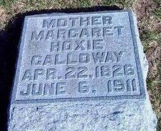 HOXIE GALLOWAY, MARGARET - Madison County, Iowa | MARGARET HOXIE GALLOWAY