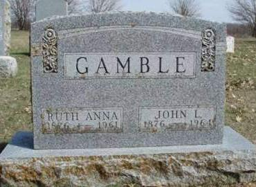 GAMBLE, RUTH ANNA - Madison County, Iowa | RUTH ANNA GAMBLE