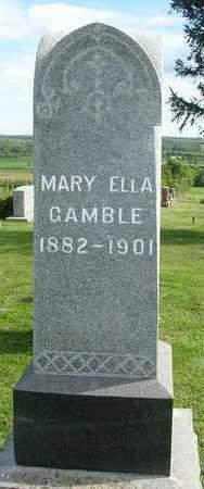 GAMBLE, MARY ELLA - Madison County, Iowa | MARY ELLA GAMBLE