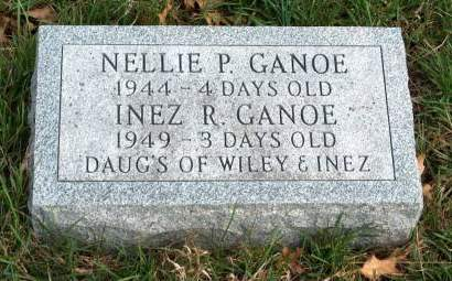 GANOE, INEZ RUTH / DOROTHY - Madison County, Iowa | INEZ RUTH / DOROTHY GANOE