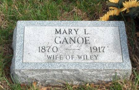 STANLEY GANOE, MARY L. - Madison County, Iowa | MARY L. STANLEY GANOE