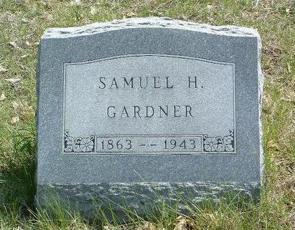 GARDNER, SAMUEL H. - Madison County, Iowa | SAMUEL H. GARDNER