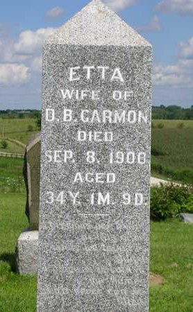 MILES GARMON, ETTA - Madison County, Iowa | ETTA MILES GARMON