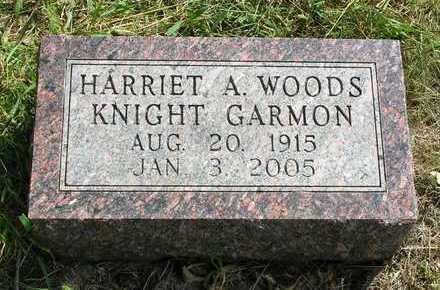 WOODS KNIGHT, HARRIET ALICE - Madison County, Iowa | HARRIET ALICE WOODS KNIGHT