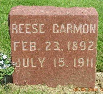 GARMON, REESE - Madison County, Iowa | REESE GARMON