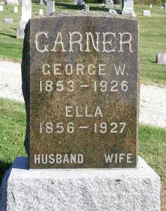 GARNER, GEORGE W. - Madison County, Iowa | GEORGE W. GARNER