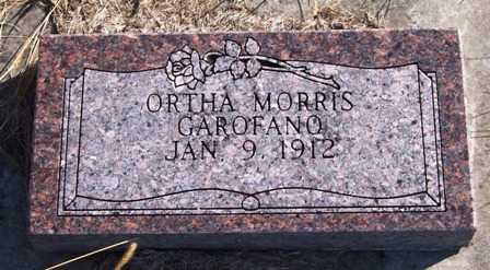 MORRIS GAROFANO, ORTHA - Madison County, Iowa | ORTHA MORRIS GAROFANO
