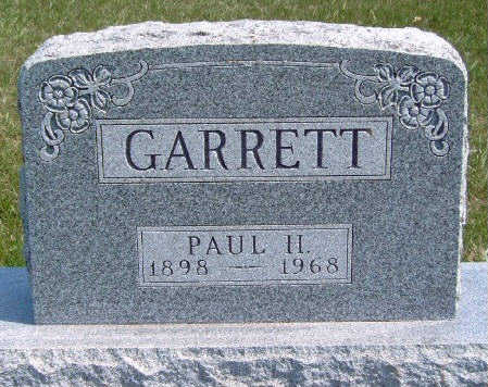 GARRETT, PAUL H. - Madison County, Iowa   PAUL H. GARRETT