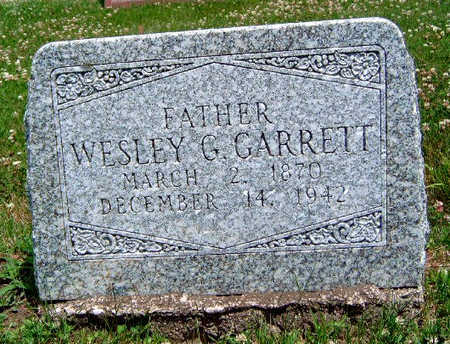GARRETT, WESLEY GREEN - Madison County, Iowa | WESLEY GREEN GARRETT
