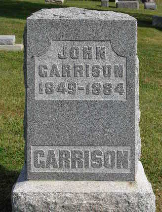 GARRISON, JOHN - Madison County, Iowa | JOHN GARRISON