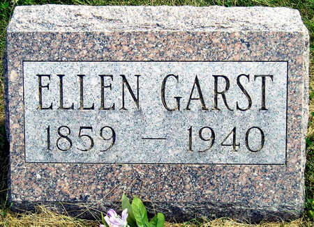 GARST, MARY ELLEN - Madison County, Iowa | MARY ELLEN GARST