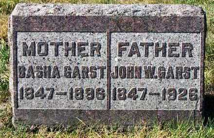 GARST, JOHN WILLIAM - Madison County, Iowa | JOHN WILLIAM GARST