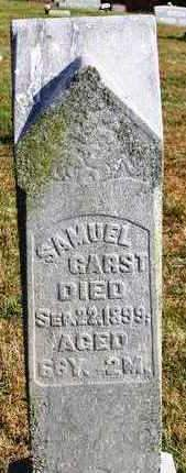 GARST, SAMUEL - Madison County, Iowa | SAMUEL GARST