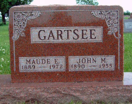 GARTSEE, JOHN MANNEL - Madison County, Iowa | JOHN MANNEL GARTSEE