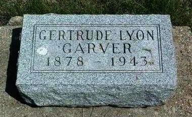 LYON GARVER, GERTRUDE E. - Madison County, Iowa | GERTRUDE E. LYON GARVER