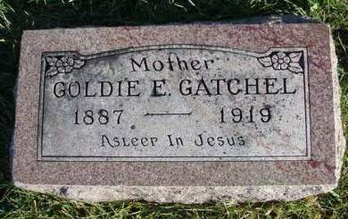 GATCHEL, GOLDIE MAE - Madison County, Iowa | GOLDIE MAE GATCHEL