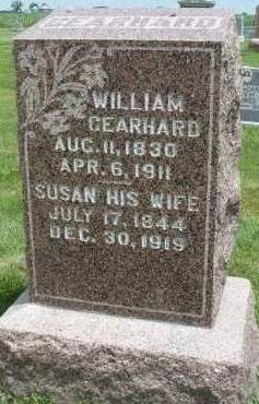 GEARHARD, SUSAN - Madison County, Iowa | SUSAN GEARHARD