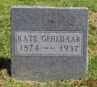 GEHLHAAR, KATHRYN (KATE) - Madison County, Iowa | KATHRYN (KATE) GEHLHAAR