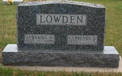 GENTRY LOWDEN, LORRAINE HAZEL - Madison County, Iowa | LORRAINE HAZEL GENTRY LOWDEN