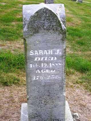 GENTRY, SARAH J. (SADIE) - Madison County, Iowa   SARAH J. (SADIE) GENTRY