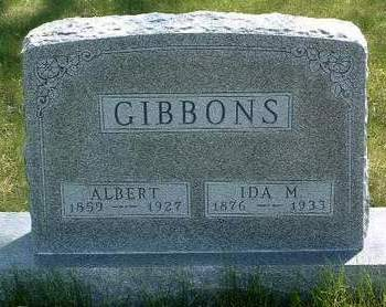 GIBBONS, ALBERT - Madison County, Iowa | ALBERT GIBBONS