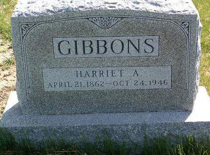 GIBBONS, HARRIET ANN - Madison County, Iowa | HARRIET ANN GIBBONS
